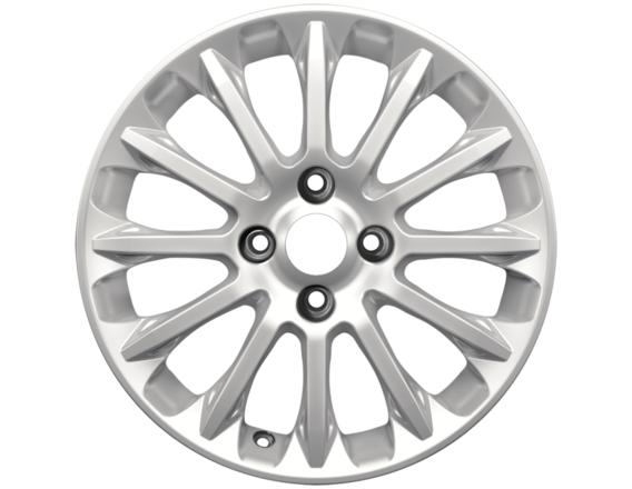 "Lichtmetalen velg 16"" 12-spaaks verve design, sparkle silver"