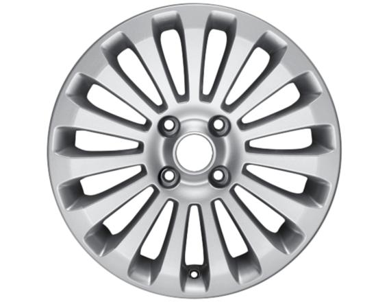 """Lichtmetalen velg 16"""" 15-spaaks design, zilver"""