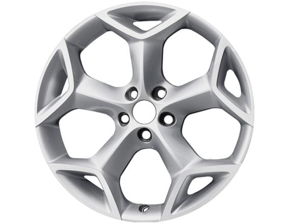 "Lichtmetalen velg 19"" 5-spaaks Y-design, Sparkle Silver gepolijst"