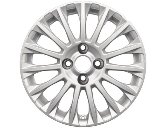 "Lichtmetalen velg 16"" 15-spaaks design, sparkle silver"