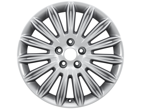 "Lichtmetalen velg 17"" 15-spaaks design, sparkle silver"