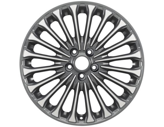 """Lichtmetalen velg 18"""" 20-spaaks design, zilver"""