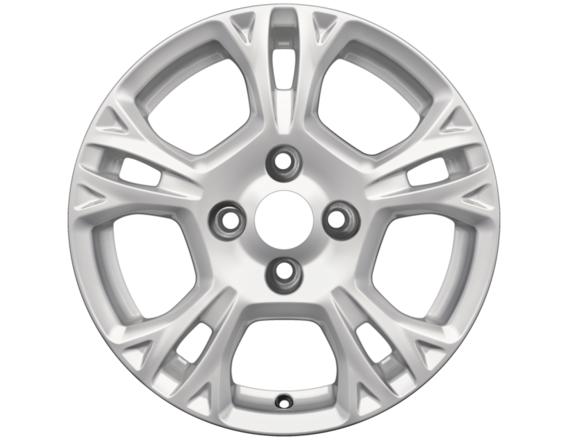 "Lichtmetalen velg 15"" 5-spaaks design, sparkle silver"