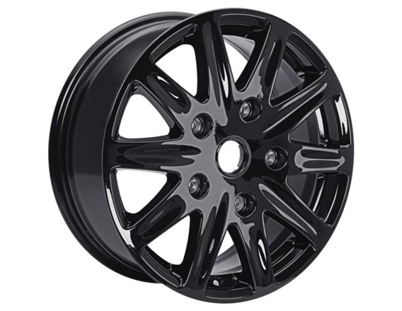 "Lichtmetalen velg 17"" 10-spaaks design, Panther Black"