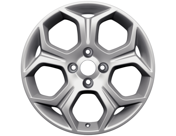 """Lichtmetalen velg 17"""" 5-spaaks Y-design, zilver"""