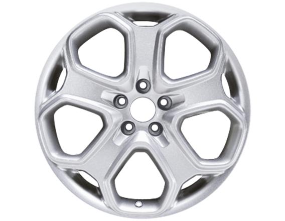 """Lichtmetalen velg 18"""" 5-spaaks Y-design, zilver"""