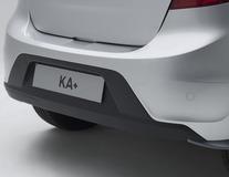 Senzori de parcare Vodafone* spate, cu 4 senzori în negru mat