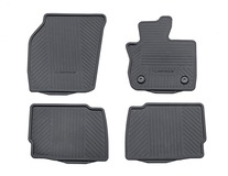 Rubber Floor Mats Vignale, front and rear