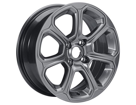 """Lichtmetalen velg 16"""" 7-spaaks design, premier aluminium"""