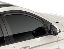 ClimAir®* Defletor de Vento para os vidros das portas dianteiras, em preto