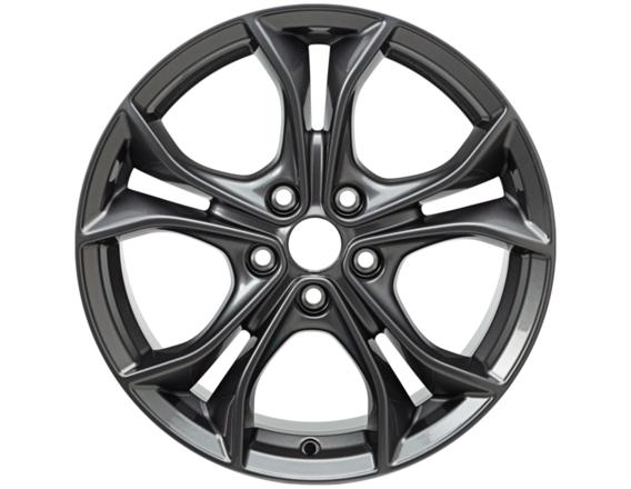 """Lichtmetalen velg 17"""" 5 x 2-spaaks Y-design, Silver Premium"""