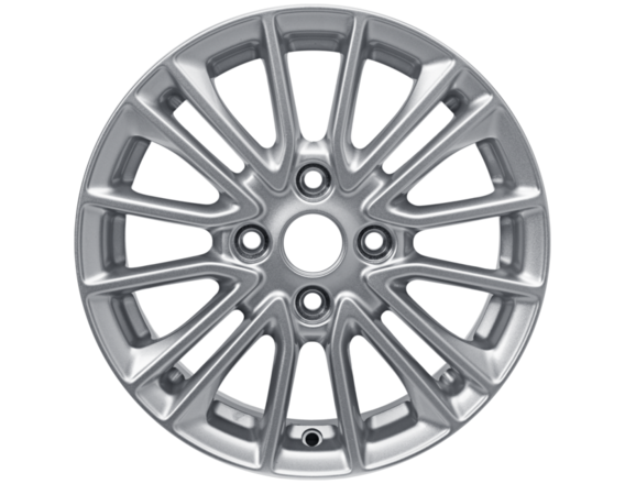 "Lichtmetalen velg 15"" 8 x 2-spaaks design, Sparkle Silver"