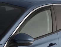 ClimAir®* Déflecteurs d'air  pour vitres de portes avant, noir