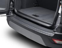 Ochranná lišta prahu zavazadlového prostoru s hladkým povrchem v matně černé barvě