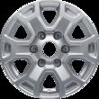 "Alloy Wheel 16"" 6 x 2-spoke design, sparkle silver"
