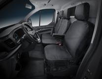 HDD* Potah sedadel pro sedadlo řidiče, potah v černé barvě