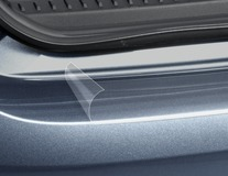 Ochranná lišta prahu zavazadlového prostoru transparentní fóie