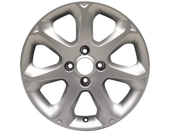 """Lichtmetalen velg 16"""" 7-spaaks design, zilver"""