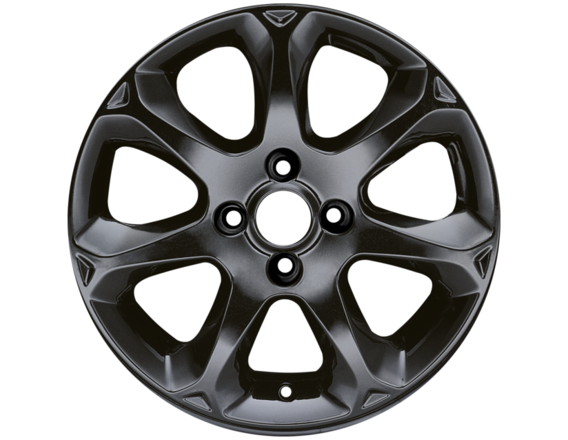 "Lichtmetalen velg 16"" 7-spaaks design, Panther Black"