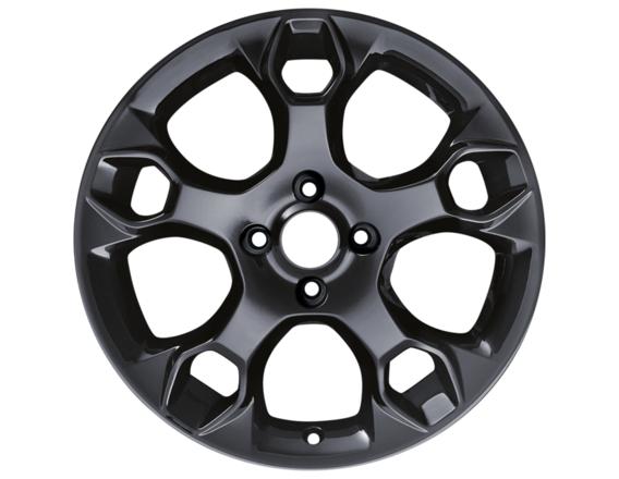 "Lichtmetalen velg 17"" 5-spaaks design, Panther Black"
