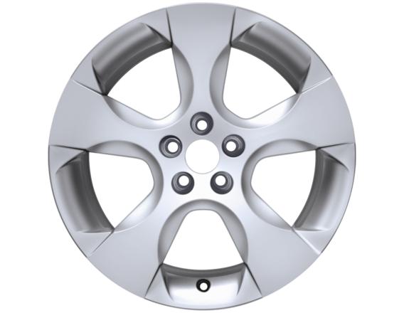 "Lichtmetalen velg 18"" 5-spaaks design, Sparkle Silver"