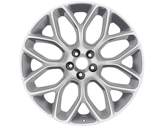"Lichtmetalen velg 19"" 8-spaaks Y-design, Sparkle Silver gepolijst"