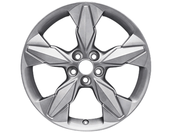 "Lichtmetalen velg 18"" 5-spaaks design, Mystique Silver"