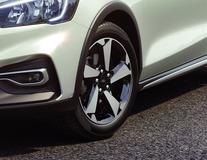 "Lichtmetalen velg 17"" 5-spaaks design, Silver Premium"