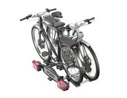 Uebler* Porta-Bicicletas Traseiro X21-S, adequado apra 2 bicicletas, inclinável 60º.