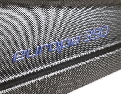 G3* Mala de Tejadilho Elegance Europe 390, preto mate