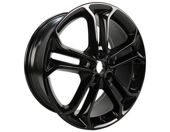 "Lichtmetalen velg 19"" 5 x 2-spaaks design, Panther Black"
