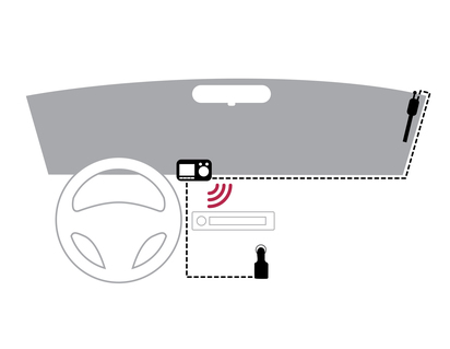 Pioneer* DAB+ Digitalradio-Nachrüstung SDA-11DAB, mit Bluetooth