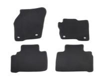Premium Velours Floor Mats front and rear, black