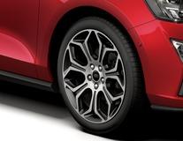 "Lichtmetalen velg 18"" 7 x 2-spaaks design, Silver Premium"