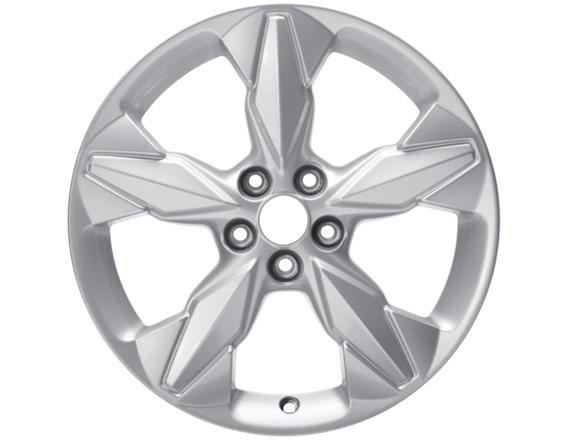 """Lichtmetalen velg 18"""" 5-spaaks design, zilver"""