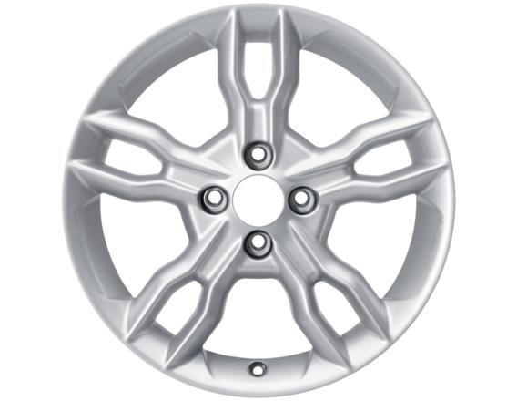 "Lichtmetalen velg 16"" 5 x 2-spaaks design, sparkle silver"