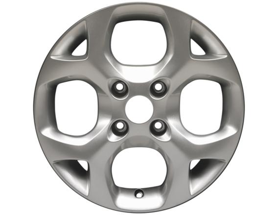 """Lichtmetalen velg 15"""" 4-spaaks Y-design, zilver"""