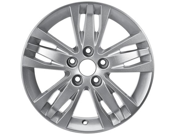 """Lichtmetalen velg 16"""" 5x3-spaaks design, zilver"""