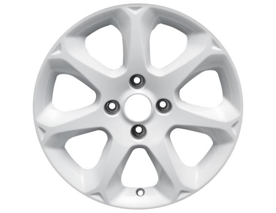 """Lichtmetalen velg 16"""" 7-spaaks design, Frozen White"""