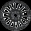 """Jante en alliage 16"""" modèle RS 15 branches, noir"""