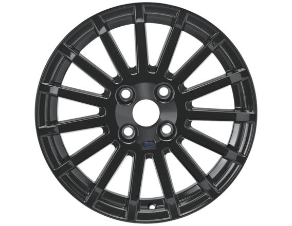 """Lichtmetalen velg 16"""" 15-spaaks RS-design, zwart"""