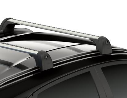 Barres transversales de galerie de toit Pour véhicules avec barres de toit montées en usine