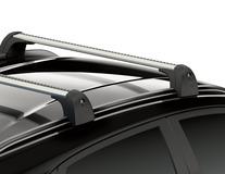 Barres de toit transversales transversales pour véhicules avec barres de toit montées en usine