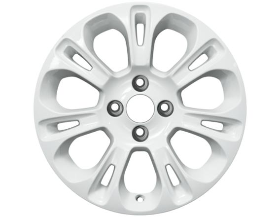 "Lichtmetalen velg 15"" 7x2-spaaks design, wit"