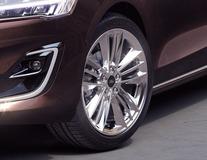 "Lichtmetalen velg 18"" 5 x 3-spaaks design, Silver Premium"