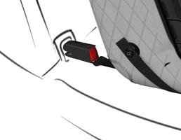 4pets®* Acessório ISOFIX Caree para jaulas de transporte Caree