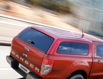 Aeroklas* Hardtop avec vitres latérales, Rouge Cuivre