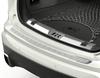 Lastebeskyttelse på bakre støtfanger plate, konturformet, polert og børstet rustfritt stål