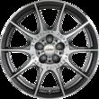 """Ronal/Speedline Corse ®* SL2 Marmora Performance Rad 20"""" Leichtmetall-Hinterrad, drückgewalzt, 10-Speichen-Design, glanzgedreht und poliert"""