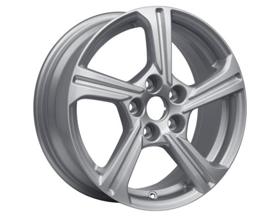 "Lichtmetalen velg 16"" 5-spaaks design, Sparkle Silver"